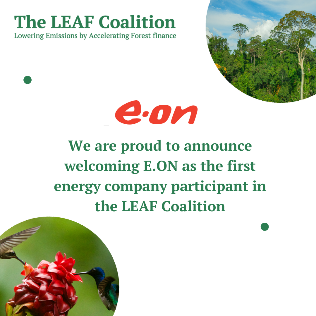 The LEAF Coalition welcomes E.ON